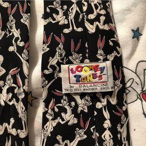 1993 Looney Tunes Bugs Bunny tie